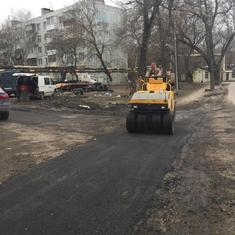 В Батайске ремонтируют дороги — БИА «ВПЕРЕД»
