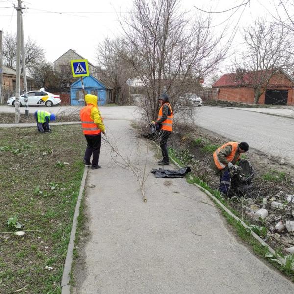 За три дня из Батайска вывезли 15 кубометров мусора