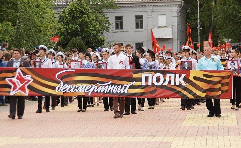 Участники шествия «Бессмертного полка» пронесут поулицам Челябинска огромную копию Знамени Победы